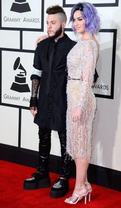 Ferras und Katy Perry. (Bild: Keystone)