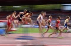 3000 Meter Steeple-Lauf der Männer. (Bild: Keystone)