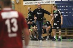 HC Kriens-Luzern-Trainer Torben Winther. (Bild: Roger Zbinden/Neue LZ)