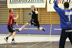 Sven Hess beim Abschlussversuch. (Bild: Roger Zbinden/Neue LZ)
