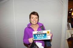 Karin Thürig, Hellbühl: «Ich laufe zum Plausch und freue mich jeweils auf den Zieleinlauf im Verkehrshaus. Das ist ein Glücksmoment und einfach unbeschreiblich.» (Bild: Michael Wyss)