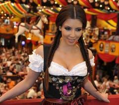Auch am Oktoberfest in München war Kim Kardashian schon zu Gast. (Bild: Keystone)