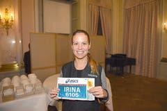 Irina Käser, Stadt Luzern: «Ich bin schon etwas kribbelig, denn ich starte zum ersten Mal hier in Luzern. Die Vorfreude auf den Lauf ist riesig.» (Bild: Michael Wyss)
