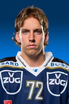 Samuel Erni, # 72 / Alter: 21 / Masse: 1,76m, 79kg / Vertrag bis 2013 (Bild: EVZ)