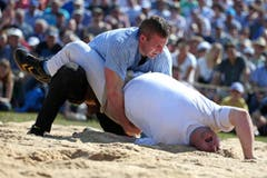 Philipp Laimbacher besiegt Florian Gnaegi (Bild: Philipp Schmidli)