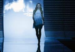 Bei der São Paulo Fashion Week lief Bündchen für Colcci über den Laufsteg. (Bild: Keystone)
