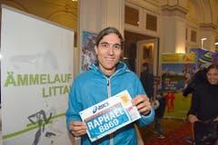 Raphaël Haas, Stadt Luzern: «Luzern bietet sehr viel. Es ist immer wieder ein grosses Erlebnis, und es gehört für mich zur Tradition, in Luzern mitzulaufen.» (Bild: Michael Wyss)