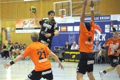 Erfolgreichster Krienser Torschütze: Benjamin Steiger mit 14 Treffern, davon 6 auf Penalty. (Bild: Pius Amrein/Neue LZ)