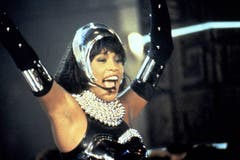 Whitney Houston 1992 in «Bodyguard». (Bild: Imago)