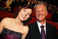 Gary Furrer mit seiner Ehefrau Imalda. (Bild: André Häfliger/Neue LZ)