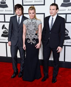 Von links: Neil Perry, Kimberly Perry und Reid Perry von The Band Perry. (Bild: Keystone)