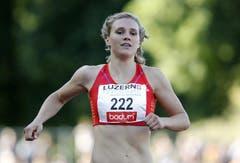 Jacqueline Gasser wird über 200 Meter Vierte. (Bild: Keystone)