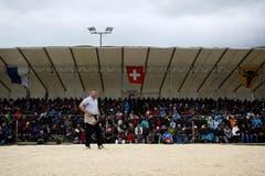 4500 Zuschauer kamen nach Beromünster. (Bild: Keystone)