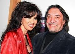 Sängerin Daniela Simmons mit ihrem Ehemann Attila Sereftung. (Bild: André Häfliger)