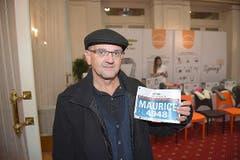 Maurice Nussbaum, Rotkreuz: «Der Marathon in Luzern und der Grand Prix von Bern sind jeweils meine beiden Highlights im Laufjahr.» (Bild: Michael Wyss)