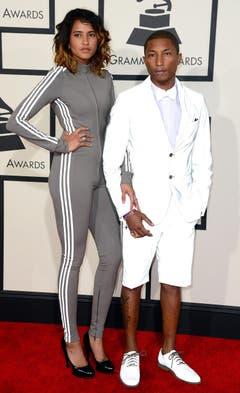 Pharrell Williams Und seine Frau Helen Lasichanh. (Bild: Keystone)