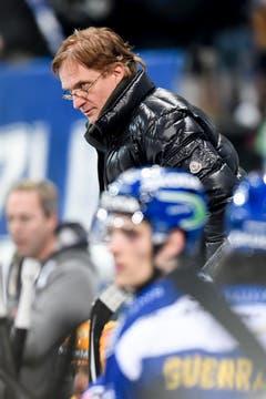 Arno del Curto, Trainer des HC Davos. (Bild: Keystone)