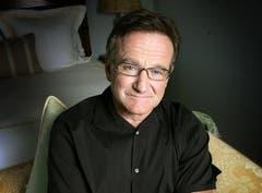 Robin Williams auf Promotiontour für seinen Film «Lizenz zum Heiraten» in Santa Monica, (Bild: Keystone)