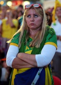 PUBLIC VIEWING, FUSSBALL, KLEINER FINAL, KLEINES FINALE, BRA NLD, BRASILIEN NIEDERLANDE, FIFA WM, FIFA WM 2014, FUSSBALL WELTMEISTERSCHAFT, WM2014, FIFA SOCCER WORLD CUP 2014, (Bild: Keystone)