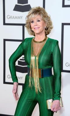 Schauspielerin Jane Fonda. (Bild: MICHAEL NELSON)