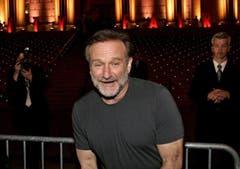 Robin Williams vor der Vanity Fair Party beim Tribeca Film Festival in New York. (Bild: Keystone)