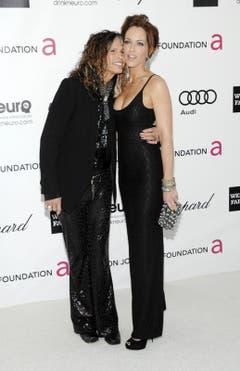 Steven Tyler and Erin Brady. (Bild: Keystone)