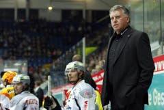 EV Zug-Cheftrainer Doug Shedden. (Bild: Keystone)