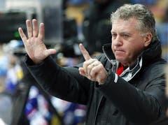 EV Zug Cheftrainer Douglas (Doug) Shedden (Bild: Keystone)