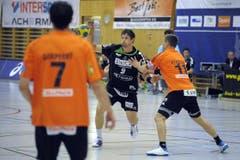 Benjamin Steiger vom HC Kriens-Luzern. (Bild: Pius Amrein/Neue LZ)