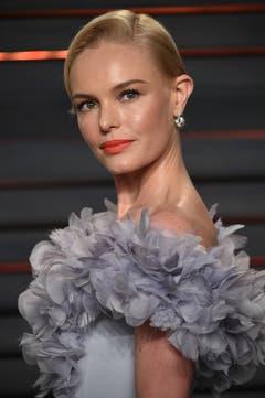 Kate Bosworth gewann keinen Oscar. Ob sie wohl deshalb so angestrengt schaut? (Bild: Keystone/Evan Agostini)