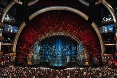 Schillernde Kulisse im Dolby Theatre, Los Angeles. (Bild: IMAGE GROUP LA / AMPAS)