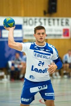 Tobias Baumgartner vom HCK. (Bild: Eveline Beerkircher / Neue LZ)