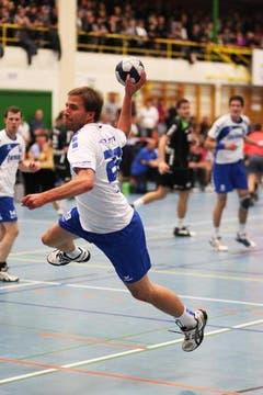 Zur Pause stand es bereits 22:8 für den HC Kriens-Luzern. (Bild: Roger Zbinden/Neue LZ)