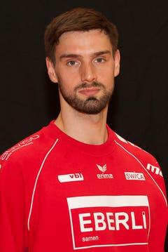#1 Andreas Portmann, 200 cm, 90 kg (Bild: HC Kriens-Luzern / Fabienne Krummenacher)