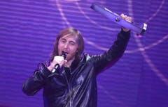 Dabvid Guetta bedankt sich für seinen Echo. (Bild: Keystone)