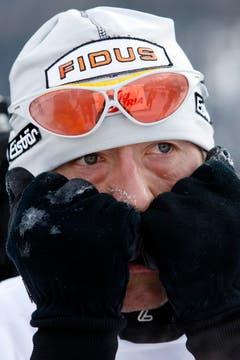 2006: Gefühlte minus dreissig Grad machen diese Ausgabe zum wohl härtesten Rennen. Es gewinnen der Österreicher Mikhail Botvinov und die Schweizerin Natascia Leonardi Cortesi. (Bild: Keystone)