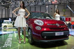 Der neue Fiat 500 L (Bild: Keystone)