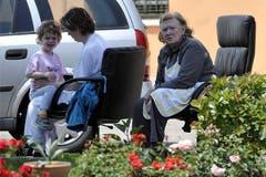 In Mirandola werden Einwohner evakuiert. (Bild: Keystone / AP)