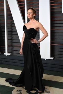 """Jennifer Garner, die manche noch als Geheimagentin """"Alias"""" kennen, mag es modisch nicht zu bunt. Aber leuchtend schön ist die US-Schauspielerin trotzdem. (Bild: Keystone/Evan Agostini)"""