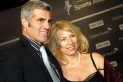 Ex-Fussballstar Andy Egli mit seiner Ehefrau Silvana. (Bild: André Häfliger/Neue LZ)