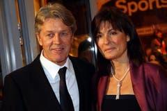 Bernhard Russi und seine Ehefrau Mari. (Bild: André Häfliger/Neue LZ)