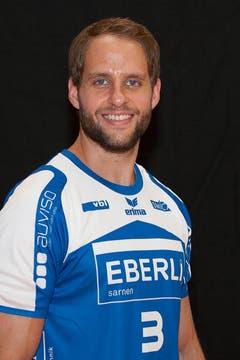 #3 Daniel Fellmann, 194 cm, 96 kg (Bild: HC Kriens-Luzern / Fabienne Krummenacher)