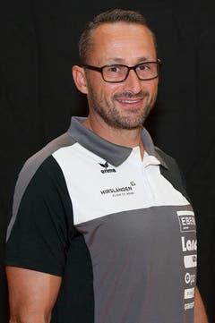 Assistenztrainer / Manager Nick Christen (Bild: HC Kriens-Luzern / Fabienne Krummenacher)