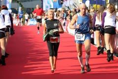 Sportlegende Rosy Suter. (Bild: Roger Zbinden / Neue LZ)