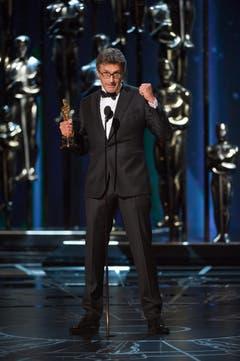 Der Oscar für den besten ausländischen Film geht mit «Ida» nach Polen. Hier Pawel Pawlikowski bei der Dankesrede. (Bild: Michael Yada / AMPAS)
