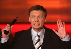 """Im Dezember 2006 moderierte er den RTL-Jahresrueckblicksendung """"2006! Menschen, Bilder Emotionen"""". (Bild: Keystone)"""