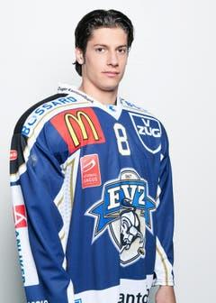 #8 Lüthi Fabian (22), Stürmer, 1.77 m, 78 kg. (Bild: pd)