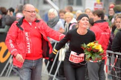 Swiss City Marathon Luzern 2016 Zufallssiegerin (Bild Dominik Wunderli / Neue LZ) Fotografiert am 30. Oktober 2016 Sport Event (Bild: Dominik Wunderli/LZ)