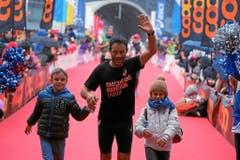 Dieser Läufer kann auf Unterstützung zählen. (Bild: swiss-image.ch/Photo Andy Mettler)