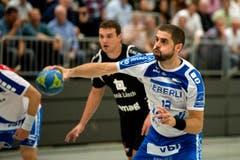 Vukasin Stojanovic vom HC Kriens-Luzern (Bild: Eveline Beerkircher / Neue LZ)
